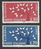 ITALY 1960 EUROPA WHEEL OMNIBUS SET MNH - 6. 1946-.. Republic