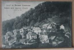 BROSSO CANAVESE, VEDUTA DELLA REGIONE CASALE  - 1908 VIAGGIATA - Altre Città