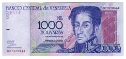 Venezuela 1000 Bolivares 10/09/1996 UNC - Venezuela