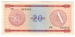 KUBA FX 20 Pesos Serie A - Cuba
