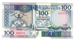 Somalia 100 Shilling 1987 UNC - Somalia
