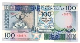 Somalia 100 Shilling 1987 UNC - Somalie