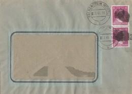 Sächsische Schwärzung Brief Mef Minr.2x 785 Falkenstein 2.8.45 - Sowjetische Zone (SBZ)