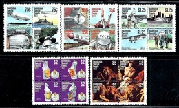 "Barbuda    ""Special Events""     Set    SC# 318ad-322ad    MNH - Antigua And Barbuda (1981-...)"