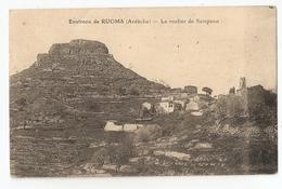07 Ruoms (environs) Le Rocher De Sampzon (2941) L300 - Ruoms