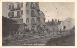 CPA -  Liban, BEIRUT / BEYROUTH, Rue D'Assour - Carte Photo. - Libano