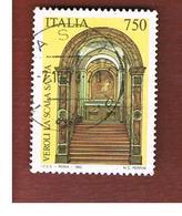 ITALIA REPUBBLICA  - SASS. 2073   -   1993  LA SCALA SANTA, VEROLI (FR)     -            USATO - 6. 1946-.. Repubblica