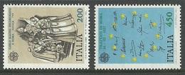 ITALY 1982 EUROPA TREATY OF ROME HISTORIC EVENTS SET MNH - 6. 1946-.. Republic
