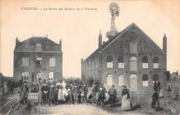 CPA 59 -  CAESTRE, La Sortie Des Ateliers De La Vannerie - Altri Comuni