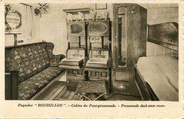 BATEAU PAQUEBOT(ROUSSILLON) - Paquebots