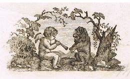 """Colmar An 13 – 11.9.1805 VignetteHéraldique"""" Ange Et Démon"""" - Documentos Históricos"""