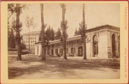 Photo 19èm Cabinet Size Vittel Vosges Par Charles Schrerrer Neufchateau - Anciennes (Av. 1900)