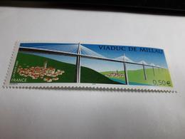 Timbre France 2004 / Y&T N° 3730 : Viaduc De Millau Neuf - Francia