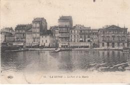 LA SEYNE - Le Port  Et La Mairie - La Seyne-sur-Mer