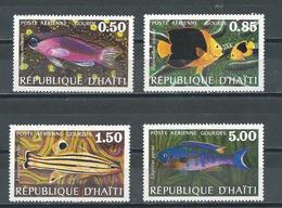 HAITI - Série Complète Oiseaux P. A. De 1973 Neuf** ( 316) - Haiti