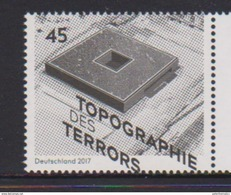 GERMANY, 2017, MNH, WWII, TOPGRAPHY OF TERROR, 1v - 2. Weltkrieg