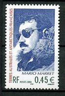 TAAF 2004  N° 391 ** Neuf MNH Superbe Cote 2 € Mario Marret Portrait - Terres Australes Et Antarctiques Françaises (TAAF)