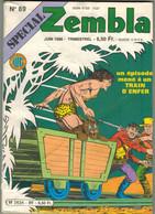 ..SPECIAL ZEMBLA N° 89 - EDITIONS LUG -JUIN 1986 - Zembla