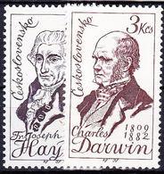 ** Tchécoslovaquie 1959 Mi 1161-2 (Yv 1044-5), (MNH) - Unused Stamps