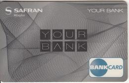 FRANCE - Bank Card, SAFRAN Morpho Sample - Geldkarten (Ablauf Min. 10 Jahre)