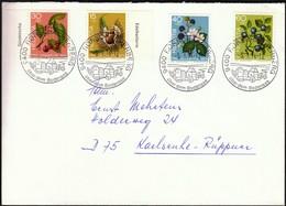 Switzerland Rorschacherberg 1974 / Pro Juventute Fruits 1973 - Covers & Documents