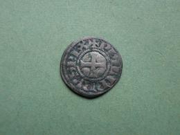 """Obole Tournois à L'O Rond """"Philippe IV Le Bel"""". - 987-1789 Royal"""