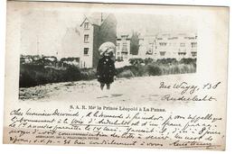 S.A.R. Mgr Le Prince Léopold à La Panne - 1905 - Edit. L. Polleunis-De Potter - 2 Scans - De Panne