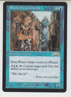 Magic The Gathering * Ertai, Wizard Adept * English - Carte Azzurre