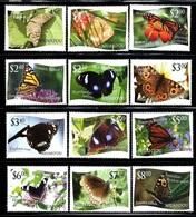 "Tonga Niuafo'OU     ""Butterflies""     Set  (with White Background)        SC# 275-86  MNH - Butterflies"