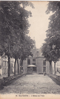 53. MAYENNE. CPA  RARETÉ. L'HOTEL DE VILLE - Mayenne