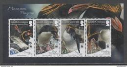 SOUTH GEORGIA , 2017, MNH, WWF, PENGUINS, SHEETLET - Unused Stamps