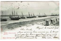 HEYST - Bateaux De Pêche - 1902 - Edit. A.Sugg Série 3/5 - 2 Scans - Heist