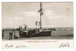 HEYST S/M. Barque De Pêche Aux Crevettes - 1902 - 2 Scans - Heist
