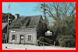 CPSM/pf SAINT AUGUSTINE (Etats-Unis)  Oldest Wooden School House..D328 - St Augustine