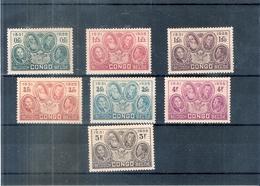 Congo Belge - 185/91 - La Dynastie - Série Complète - Côte:80,00 € - XX/MNH - Congo Belge