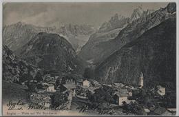 Soglio - Vista Sul Val Bondasca - Photo: Wehrli - GR Grisons
