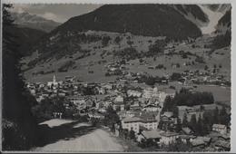 Klosters - Generalansicht, Strasse Nach Davos - Photo: Berni - GR Graubünden