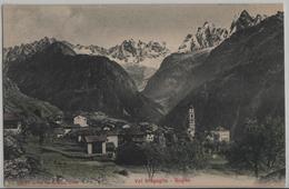 Val Bregaglia - Soglio, Kirche Wird Renoviert - Photoglob No. 5387 - GR Grisons