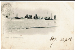 HEYST - Le Vent Favorable - 1902 - Edit. Stainier, Gompt. - 2 Scans - Heist