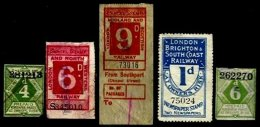 GREAT BRITAIN, Railway Parcels, Used, Ave/F - Local Issues