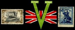 GREAT BRITAIN, World War I, Used, F/VF - Cinderellas