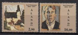 Aland - 1992 - Yvert N° 61 & 62 ** - Aland