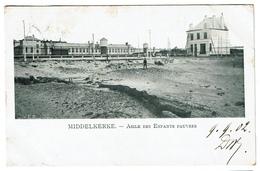 Middelkerke - Asile Des Enfants Pauvres - 1902 - Edit. V.E.D. - 2 Scans - Middelkerke