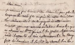 LETTRE JACQUES JOSEPH PASCALIS, 1852. NAPOLEON III, FORTOUL. Second Empire, Prat - Manuscripts