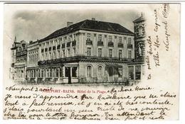 Nieuport-Bains - Hôtel De La Plage - 1902 - 2 Scans - Nieuwpoort