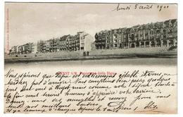 Heyst S/M. -Panorama De La Digue - 1901 - Edit. Jules Nahrath - 2 Scans - Heist
