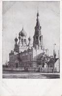 AK Brest-Litowsk - Blaue Kirche, Jetzt Garnisonkirche Unserer Feldgrauen - Feldpost - 1918 (34847) - Weißrussland