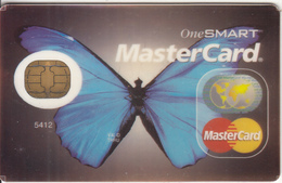 USA - Butterfly, Master Card, Void - Credit Cards (Exp. Date Min. 10 Years)
