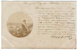 Carte Photo 1902 - Heyst - 2 Scans - Nieuwpoort
