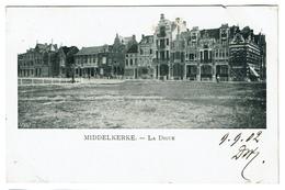 Middelkerke - La Digue - 1902 - 2 Scans - Middelkerke